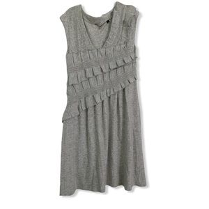 Knitted & Knotted by Anthropologie gray dress